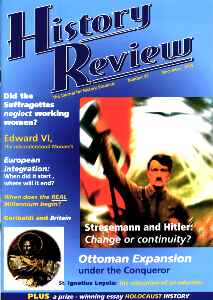 History Review Hitler Nazi cover Dec 1999