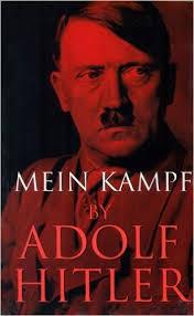 Adolf Hitler's Mein Kampf cover design